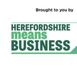 Dawleys sponsor award at Herefordshire Means Business 2018