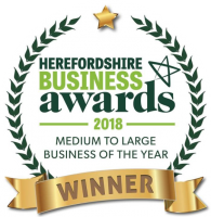Herefordshire Business Awards 2018 Medium to Large Business of the Year
