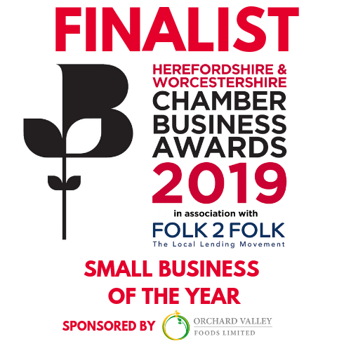 Herefordshire & Worcestershire Chamber of Commerce Awards Finalist 2019